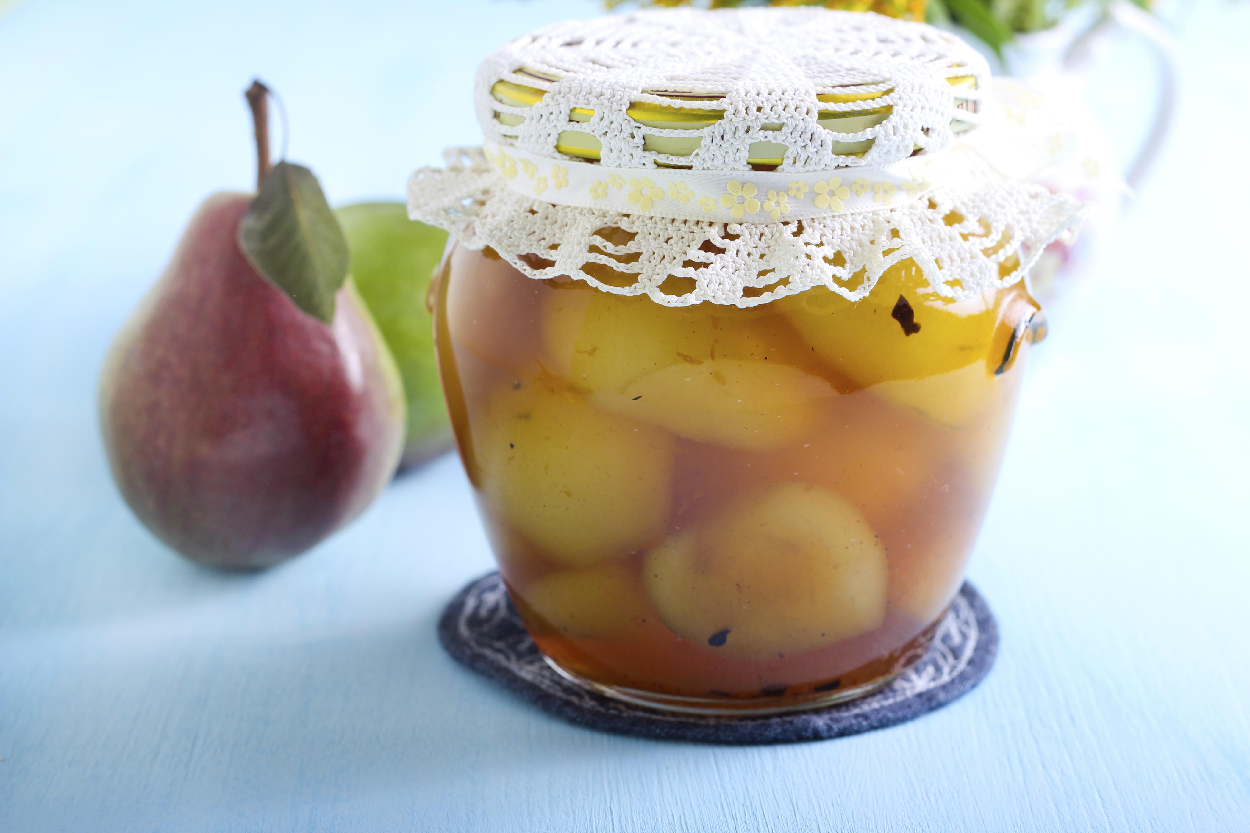 Birnen einkochen ohne zucker