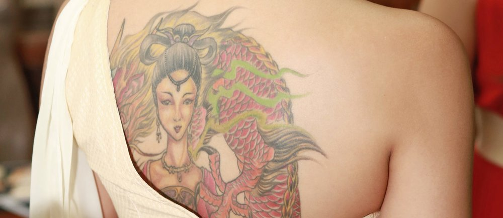 Japanische Tattoos