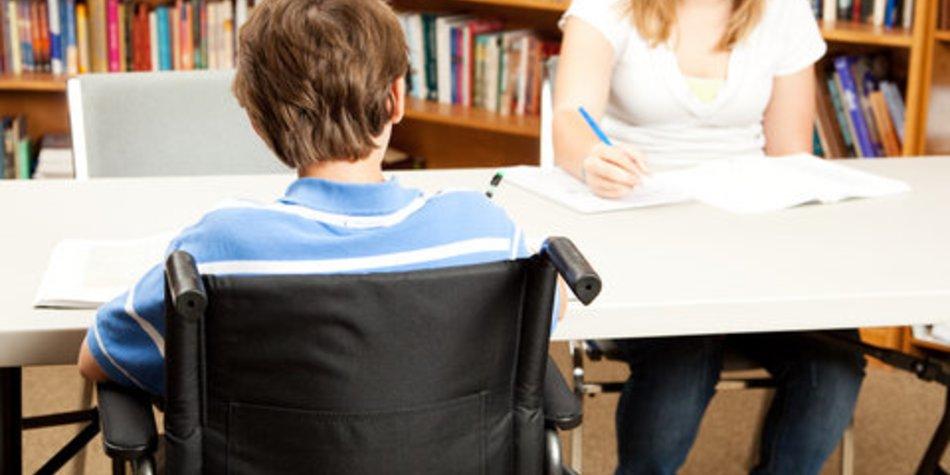 Schule: Projekt zur Integration behinderter Kinder