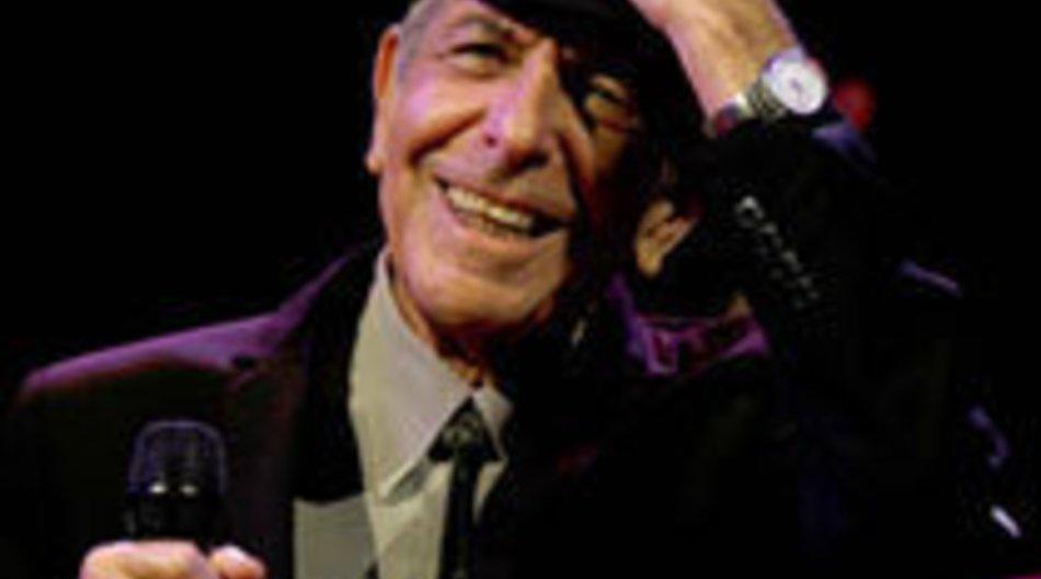 Leonard Cohen: Schwächeanfall
