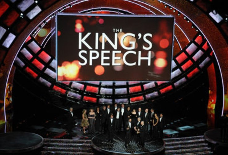 Oscars 2011: The Kings Speech ist bester Film