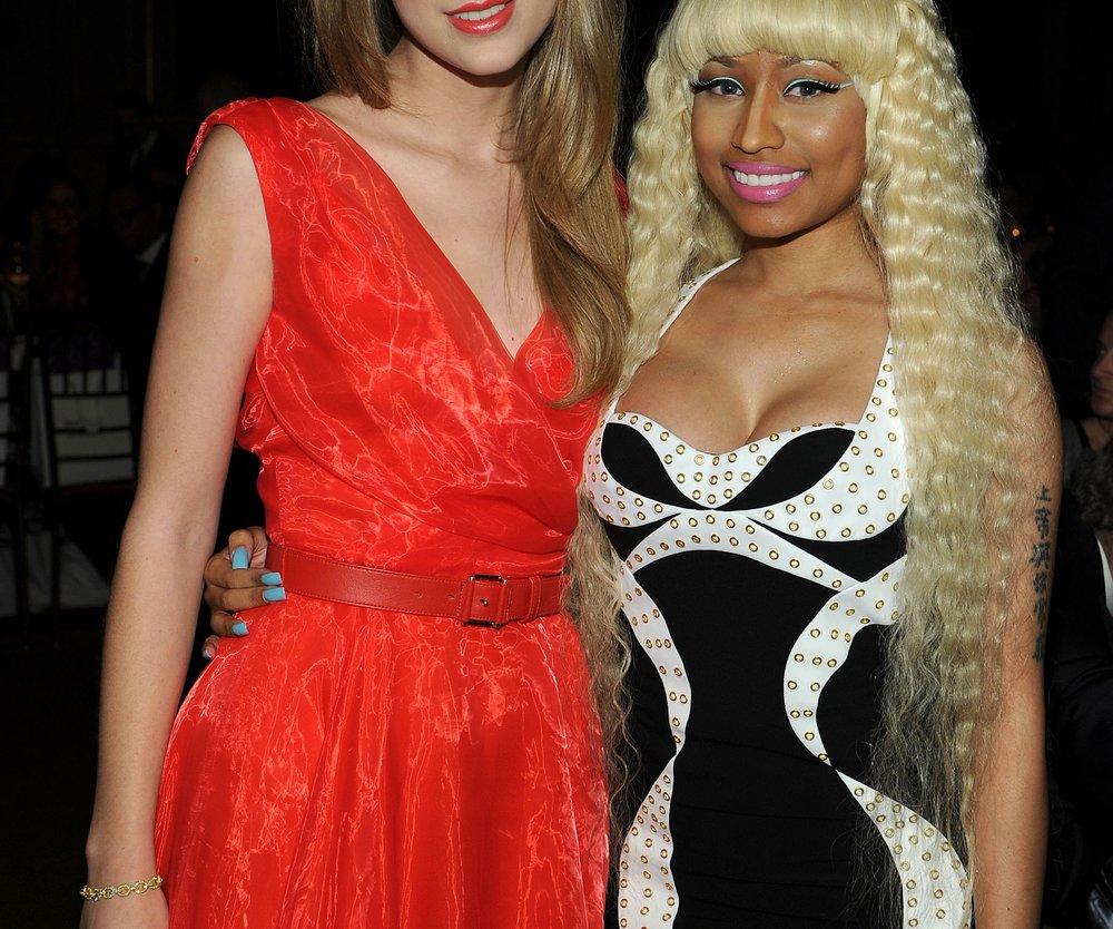 Taylor Swift entschuldigt sich bei Nicki Minaj