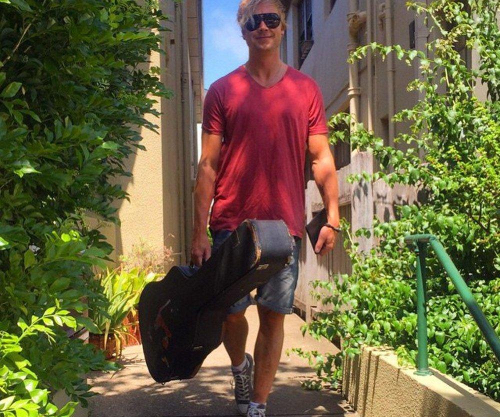 Samu Haber arbeitet auch im Urlaub