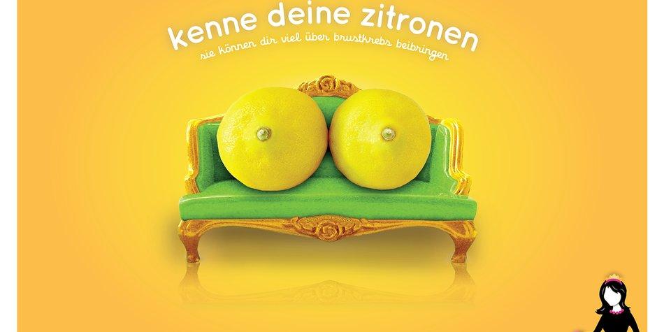 Mit Zitronen Brustkrebs erkennen