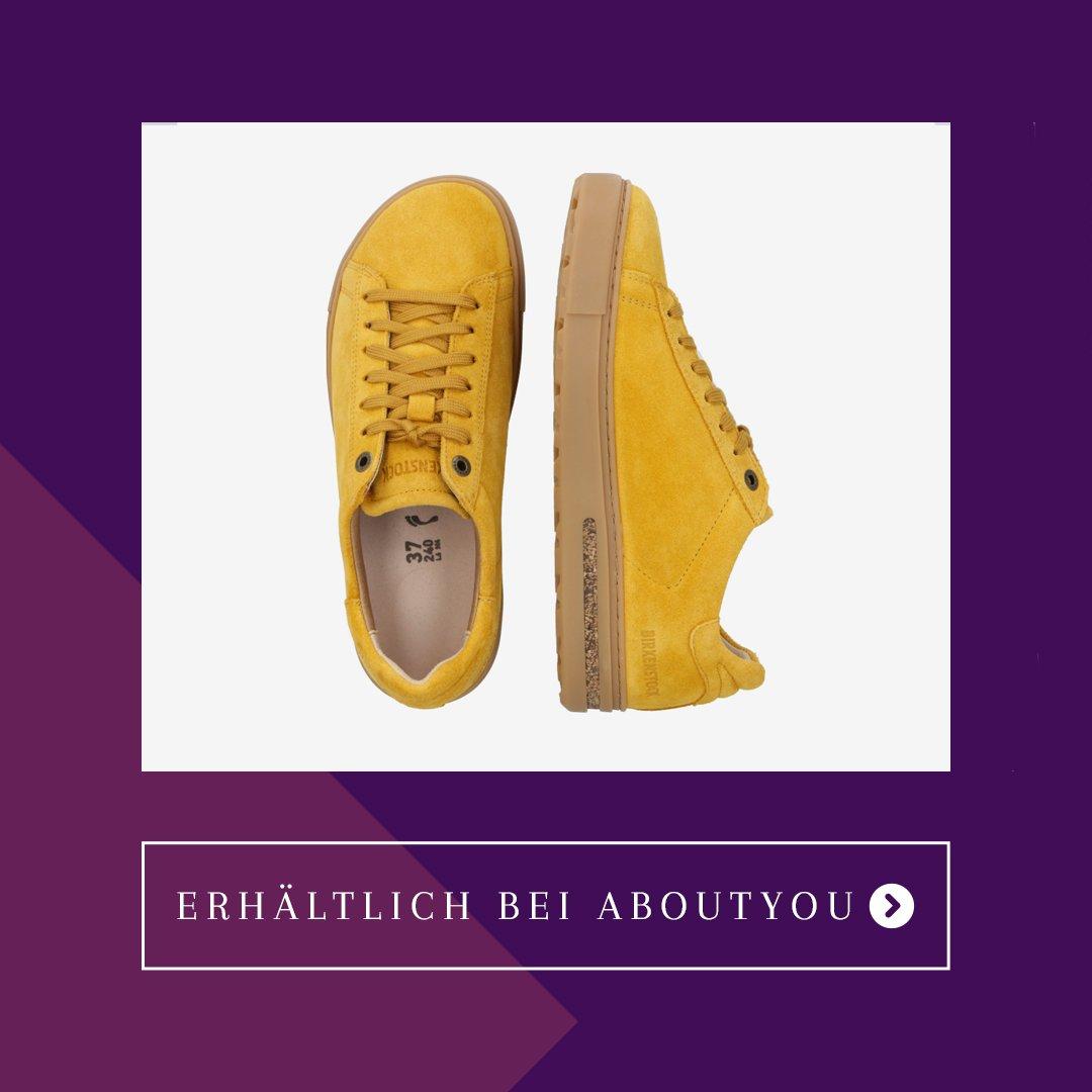 Birkenstock Sneaker Bend Gelb