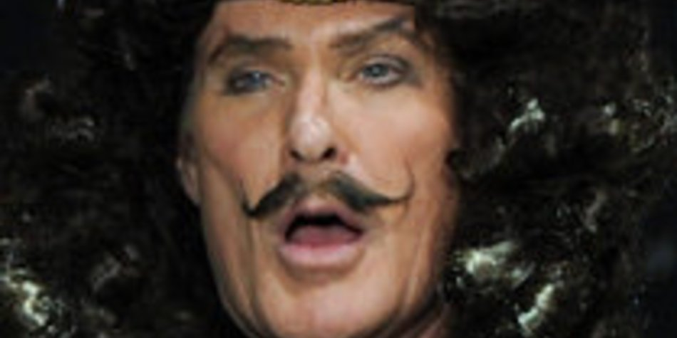 David Hasselhoff als fieser Captain Hook