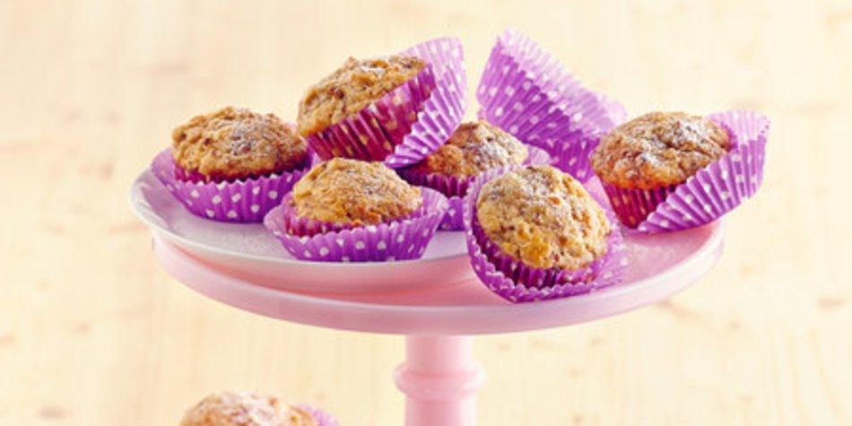Birnen-Studentenfutter-Muffins