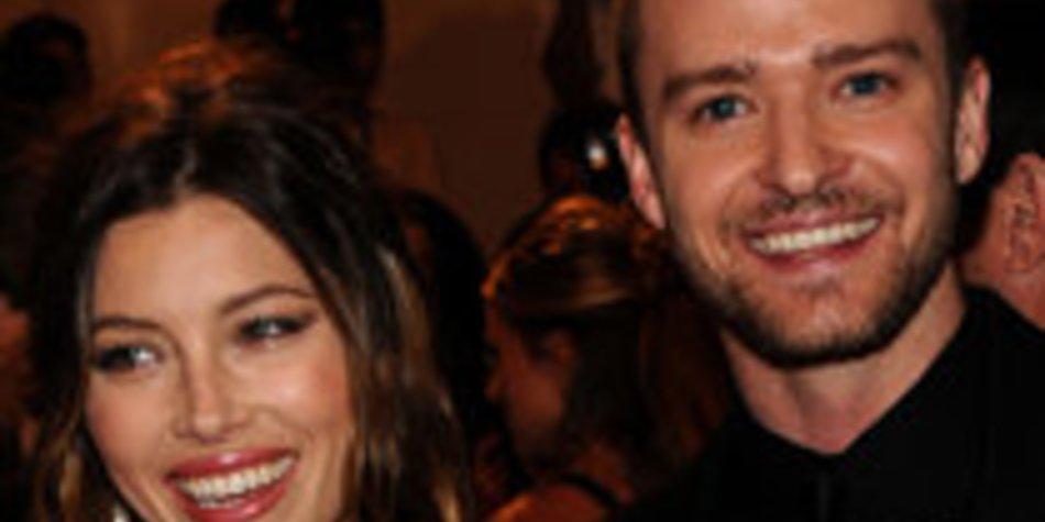 Justin Timberlake und Jessica Biel zeigen ihre Liebe