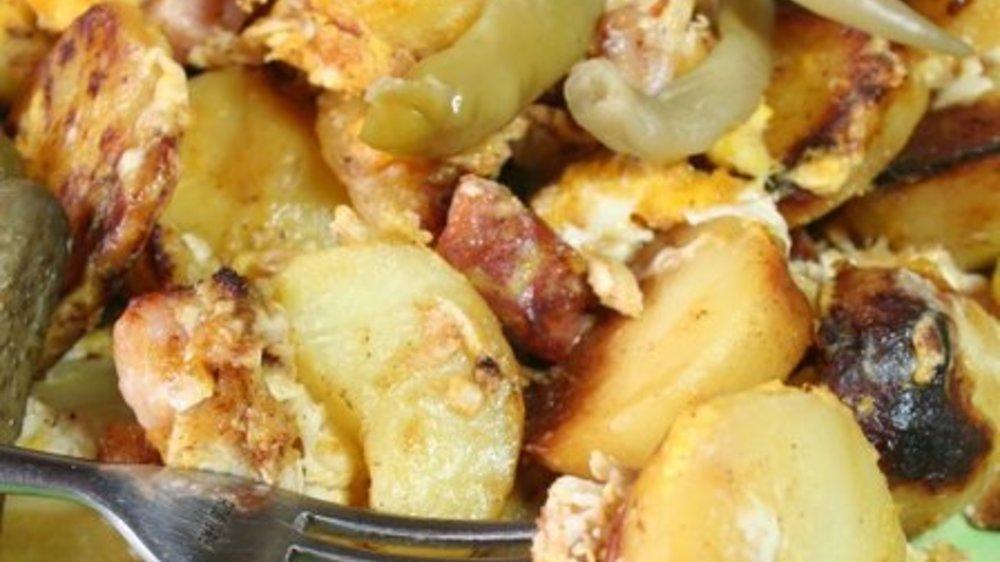 Bauernfrühstück Zubereitung