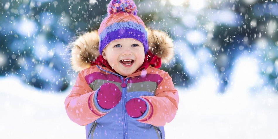 Winter im Kindergarten
