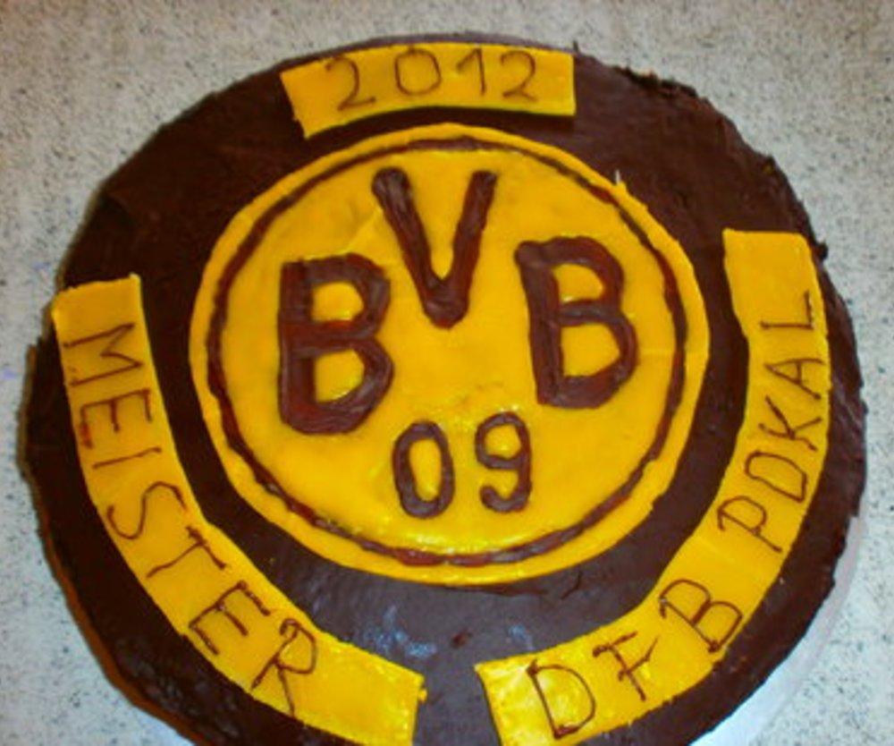 Schokoladen BVB-Kuchen