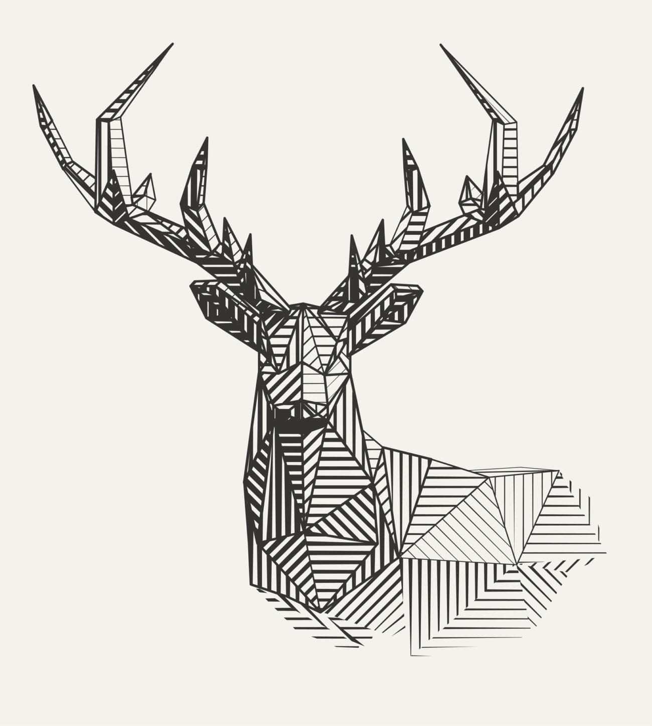 wild 9 majest tische hirsch tattoos bedeutung. Black Bedroom Furniture Sets. Home Design Ideas