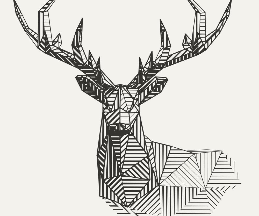 Hirsch-Tattoo