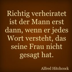 Spruch Ehe Alfred Hitchcock