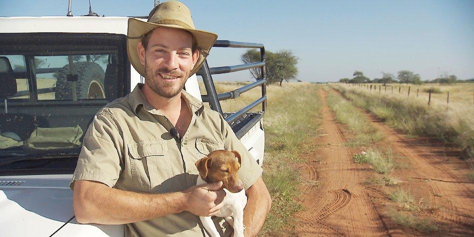 Der attraktive Farmer Gerald aus Namibia Foto: RTL