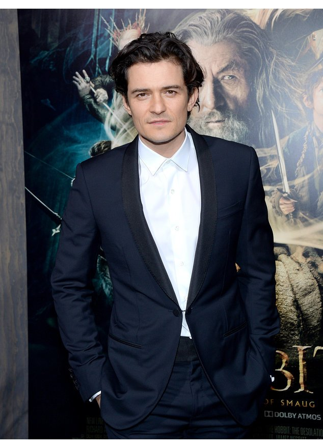 "Orlando Bloom bei der Premiere von ""Der Hobbit"" in Los Angeles"