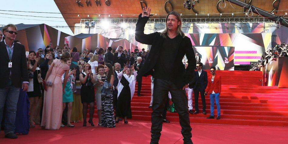 Brad Pitt und Shia LaBeouf gehen zur Army!
