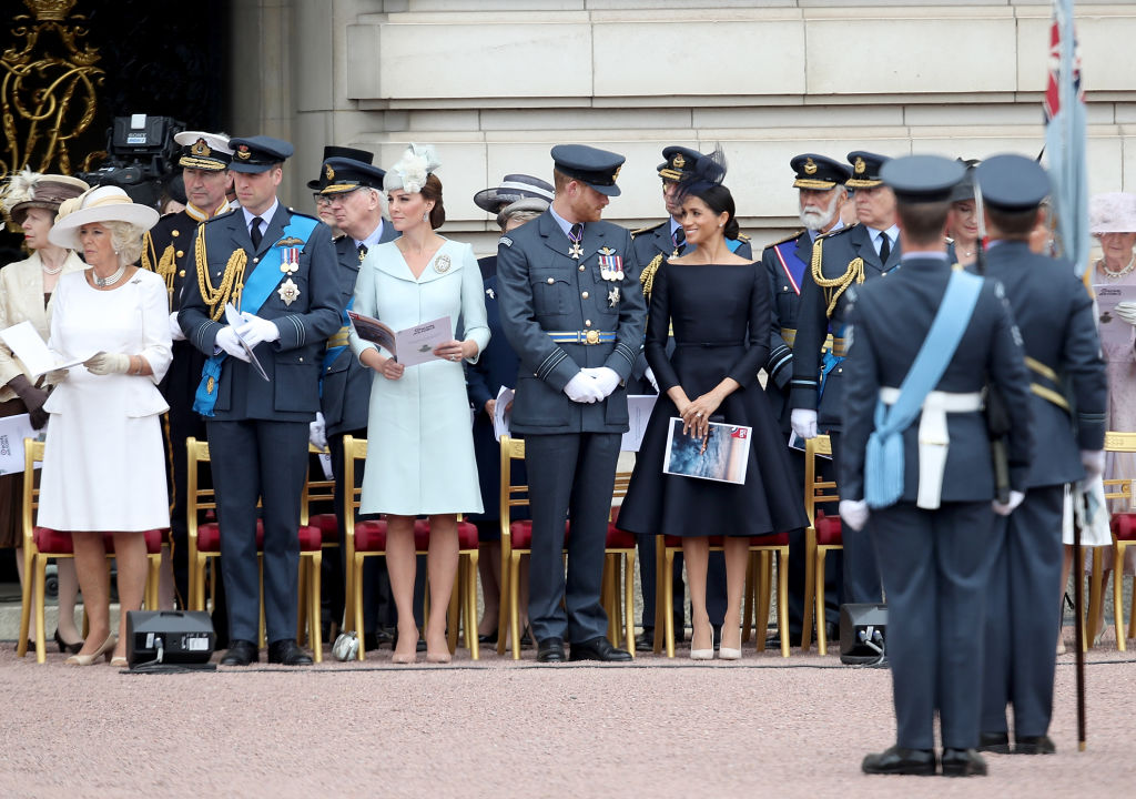 Prinz William, Herzogin Kate, Prinz Harry, Herzogin Meghan