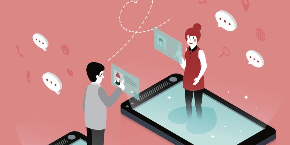 Dating-spiel App
