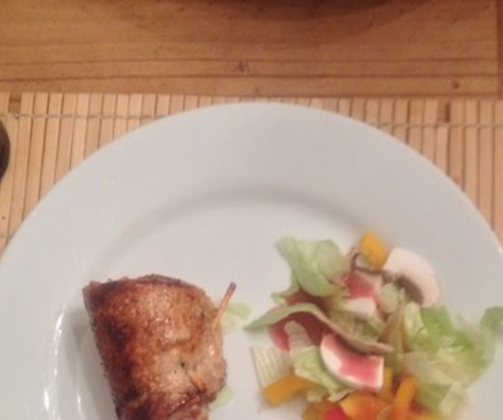 Gefüllte Kalbsschnitzel