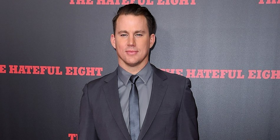 "NEW YORK, NY - DECEMBER 14: Actor Channing Tatum attends the New York premiere of ""The Hateful Eight"" on December 14, 2015 in New York City. (Photo by Nicholas Hunt/Getty Images)"