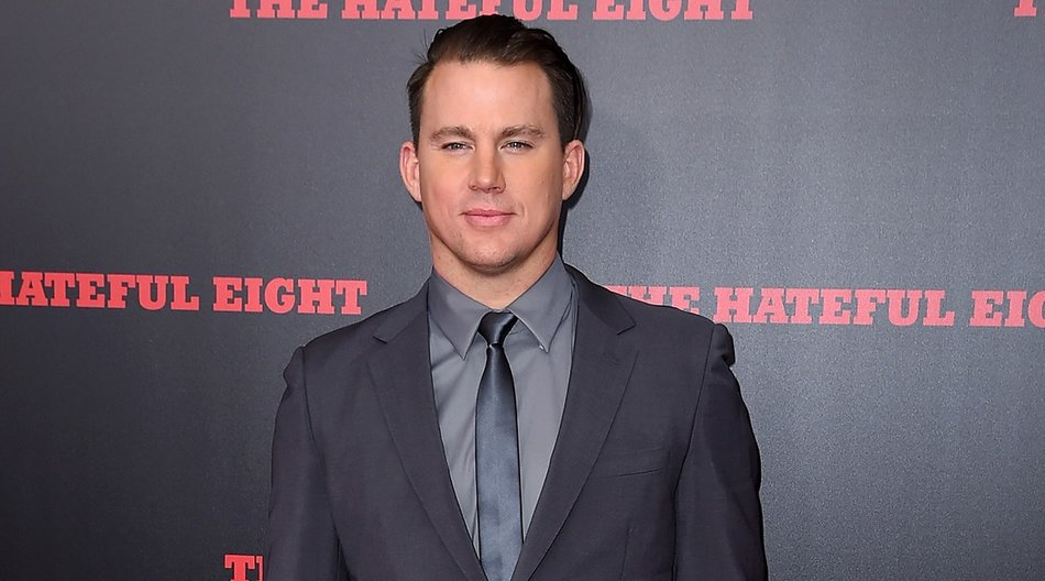 """NEW YORK, NY - DECEMBER 14: Actor Channing Tatum attends the New York premiere of """"The Hateful Eight"""" on December 14, 2015 in New York City. (Photo by Nicholas Hunt/Getty Images)"""