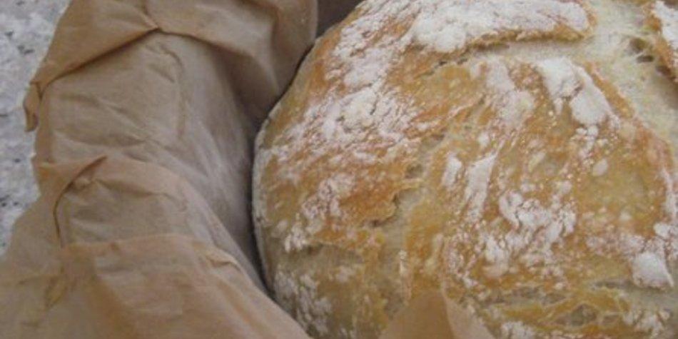 No Knead Bread - Brot im Topf