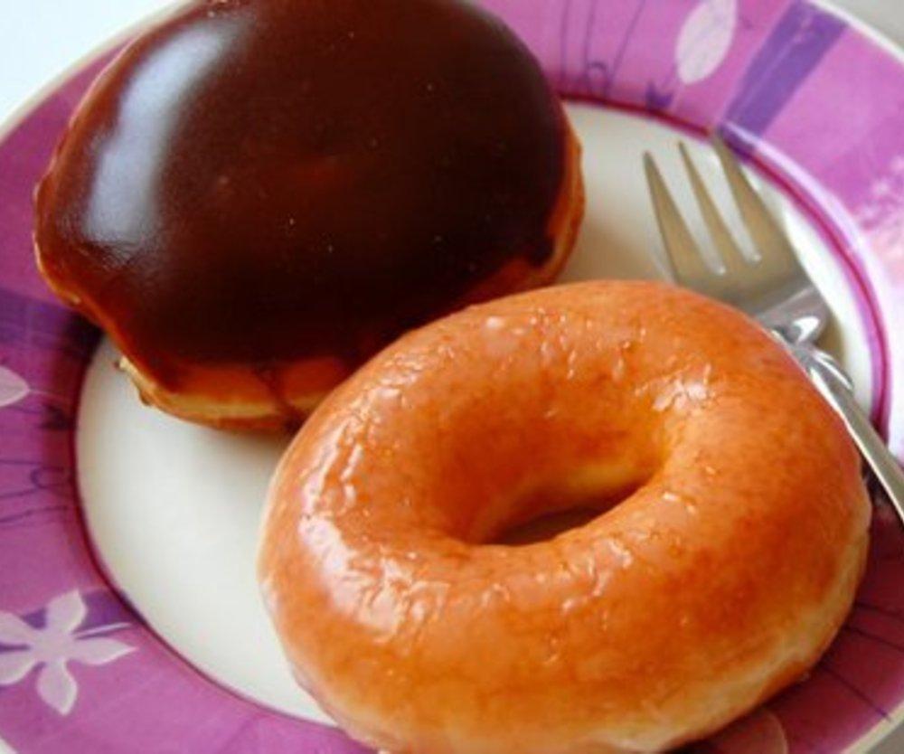 Gefüllte Donuts