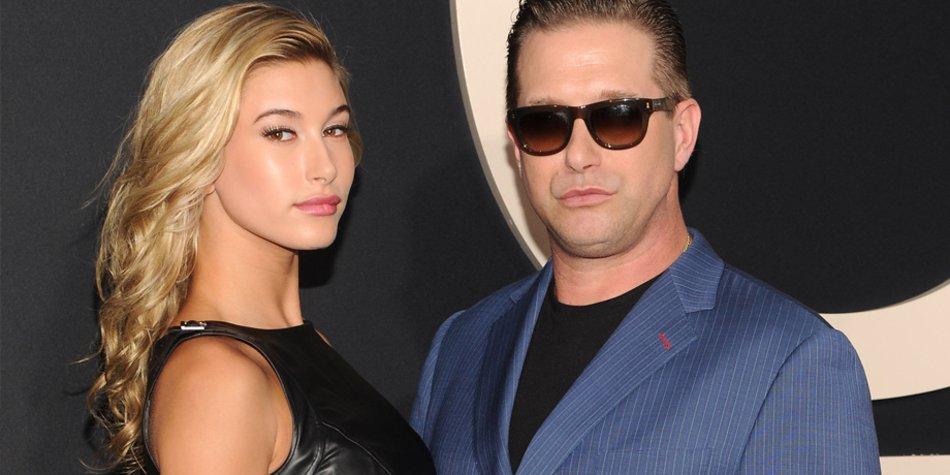 Stephen Baldwin und seine 17-jährige Tochter Hailey.
