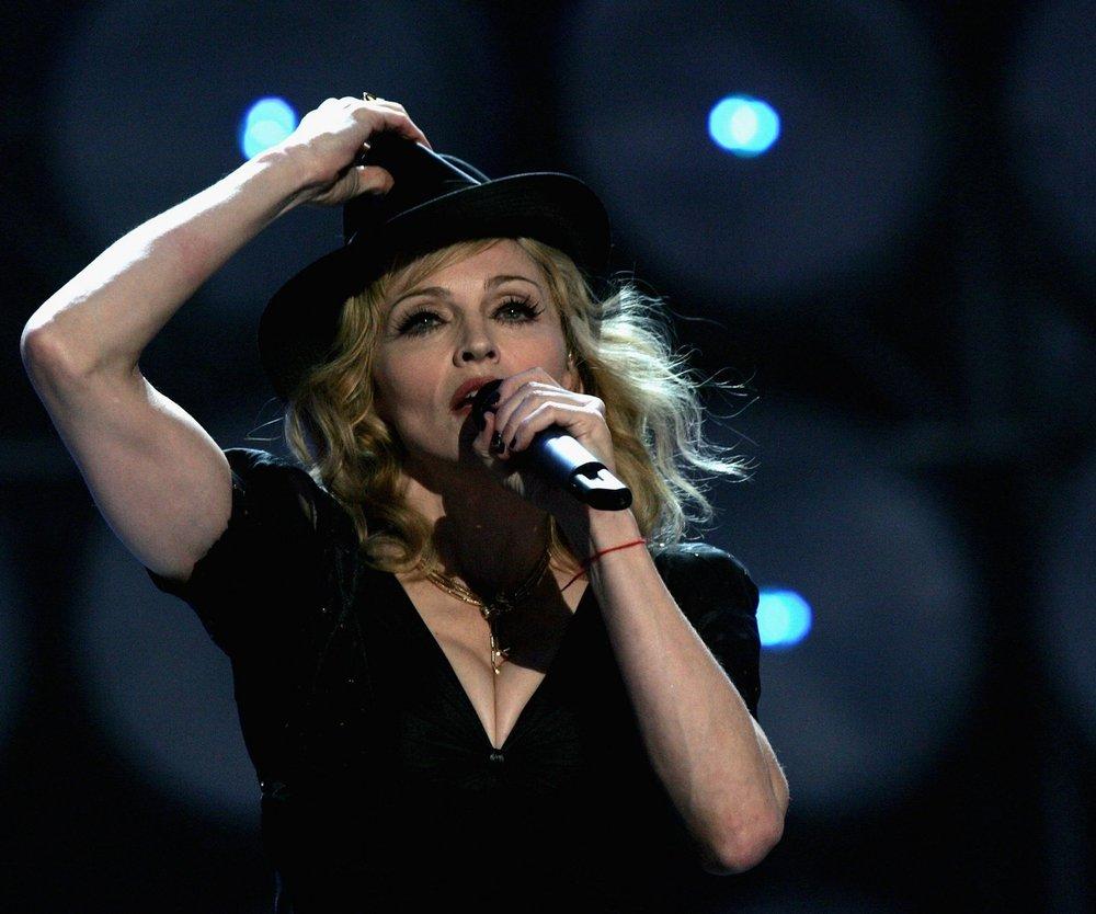 Madonna gibt sich die Ehre