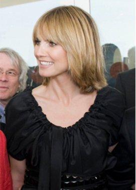 Heidi Klum Zeigt Ihre Neue Frisur Und Frisiert Jay Leno Top Story