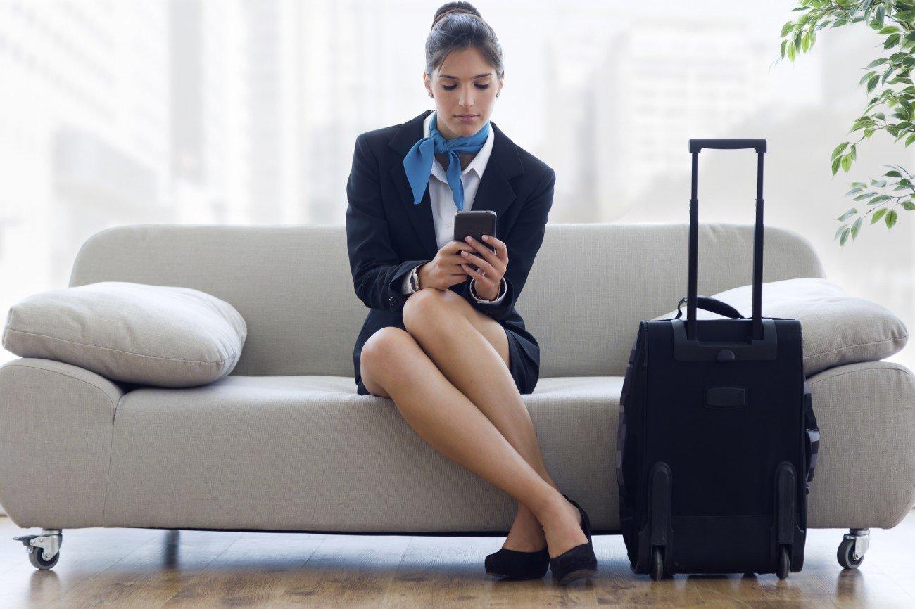 Tinder Stewardess