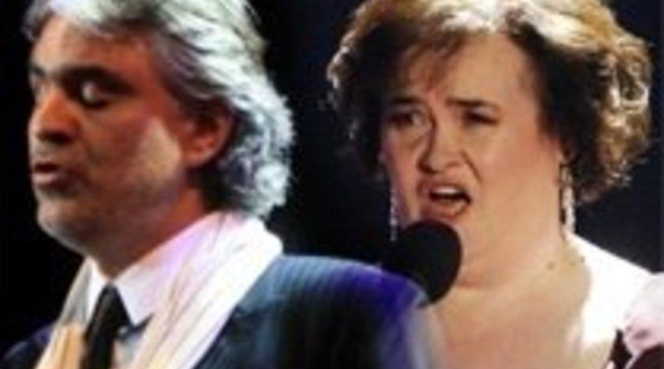 Susan Boyle: Duett mit Andrea Bocelli