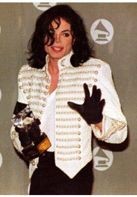 Popstar Michael Jackson