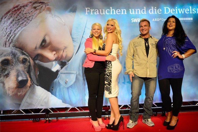 Daniela Katzenberger hat ihre Familie mitgebracht