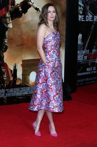 Emily Blunt bei einer Filmpremiere in UK