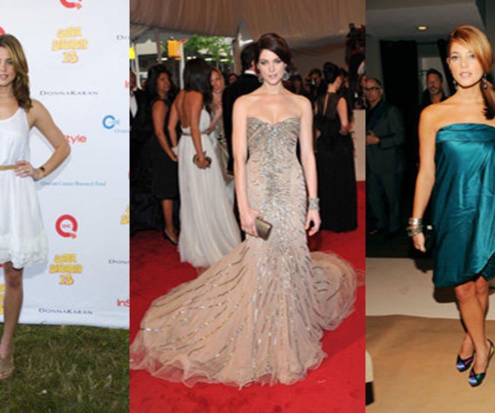 Ashley Greene modelt für DKNY