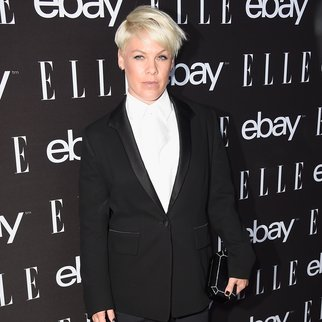 HOLLYWOOD, CA - MAY 20: Singer Pink arrives at the 6th Annual ELLE Women In Music Celebration Presented By eBayat Boulevard3 on May 20, 2015 in Hollywood, California. (Photo by Frazer Harrison/Getty Images)