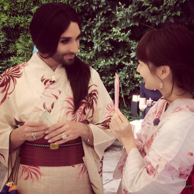 Conchita Wurst besucht Japan