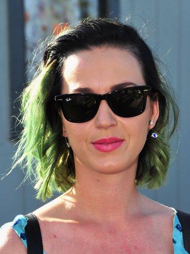 Katy Perry: Grüner Sommerlook