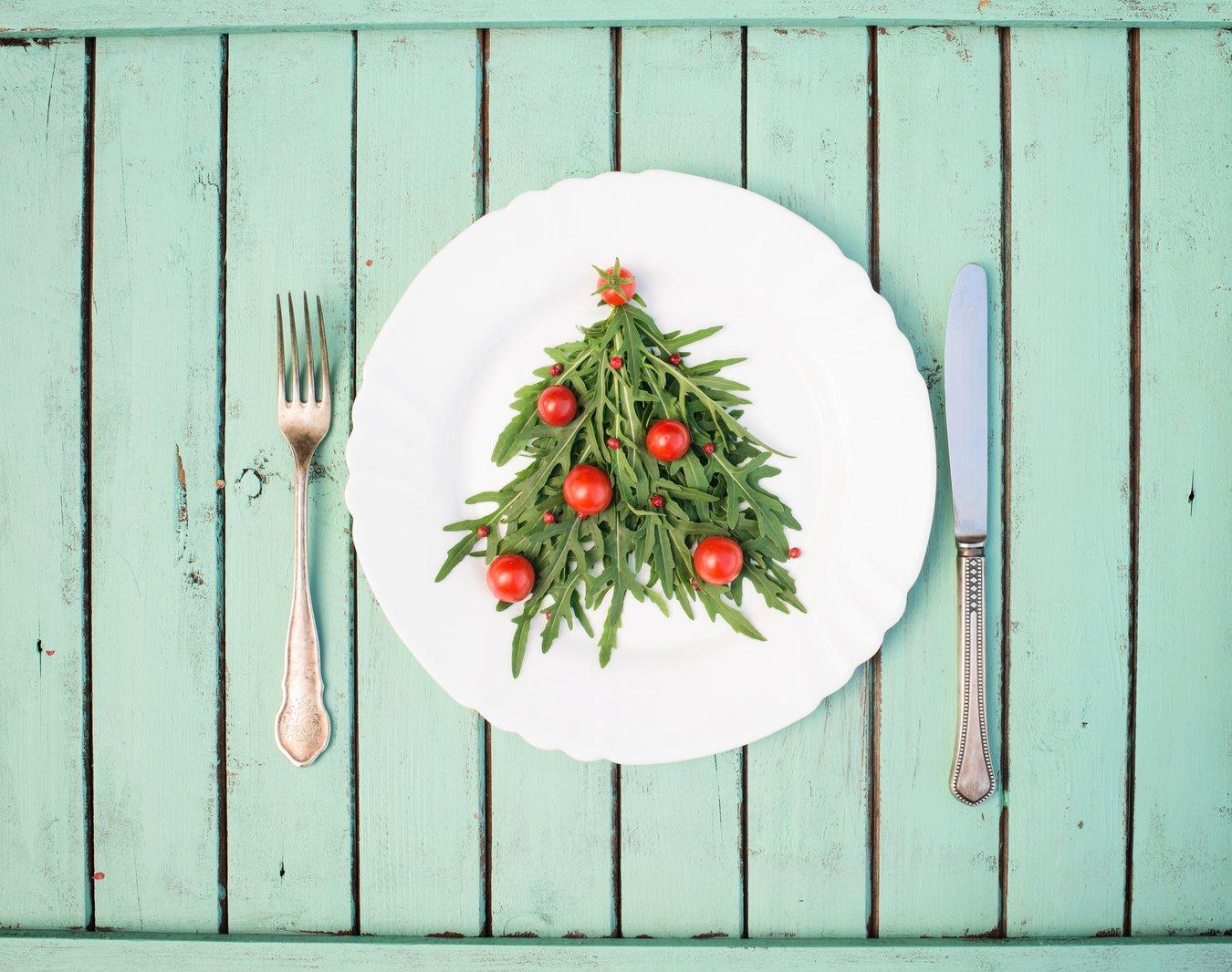 vegetarisches Weihnachtsessen