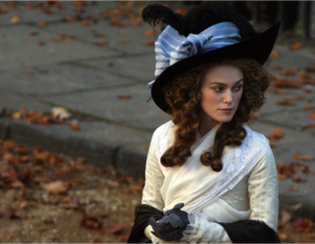 Keira Knightly spielte die Hauptrolle in 'The Dutchess'