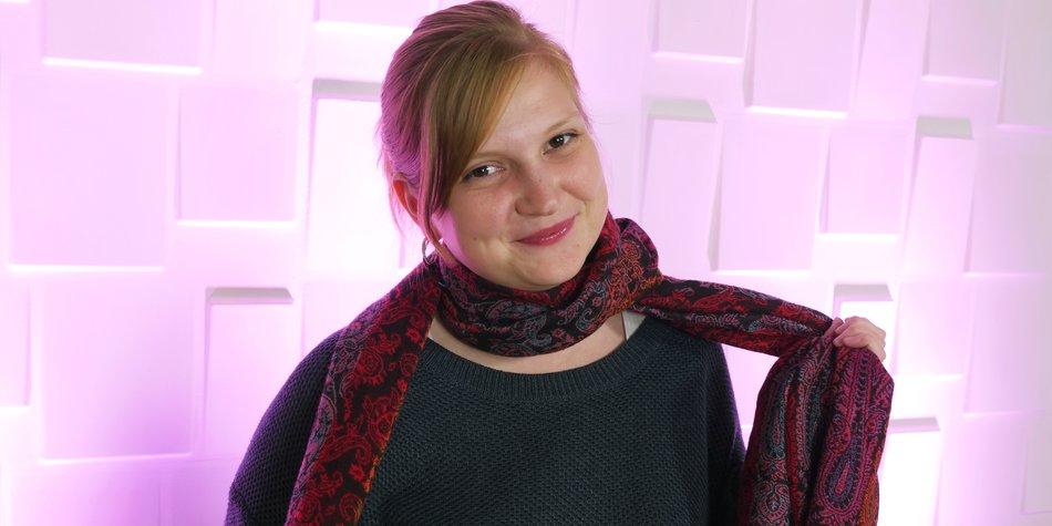 Schals und Tücher binden