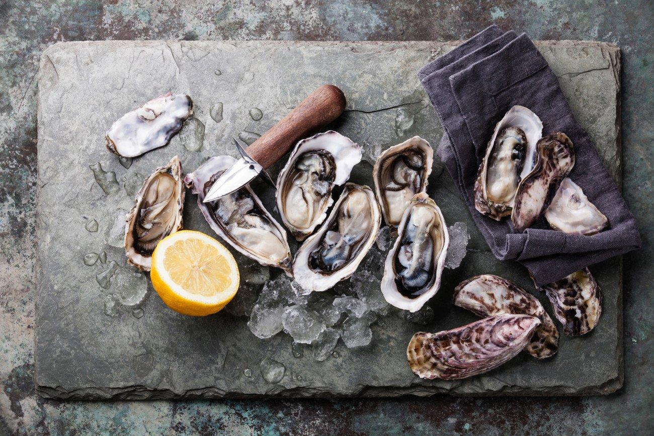 Zinkhaltige Lebensmittel - Austern