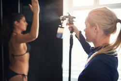 Airbrush-Tanning auffrischen