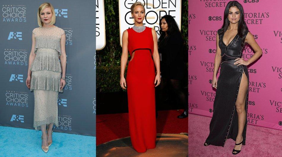 Jennifer Lawrence, Kirsten Dunst, Selena Gomez