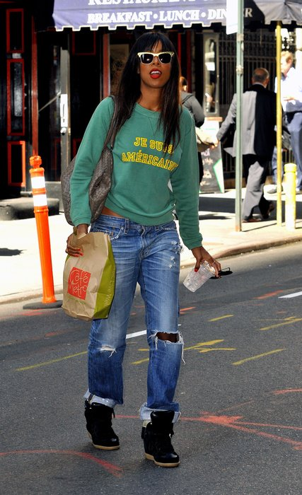 Kelly Rowland in New York