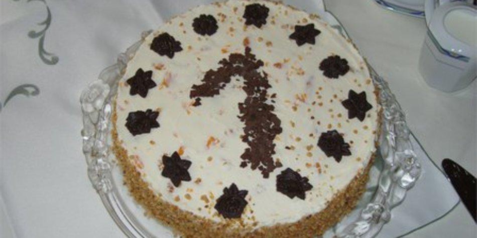 Himbeer-Krokant-Torte