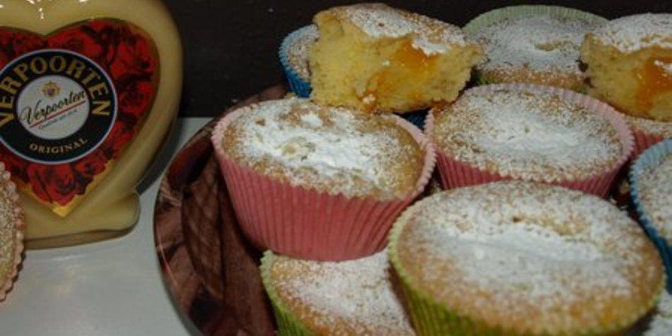 Eierlikör Verpoorten - Muffins mit Mandarinen