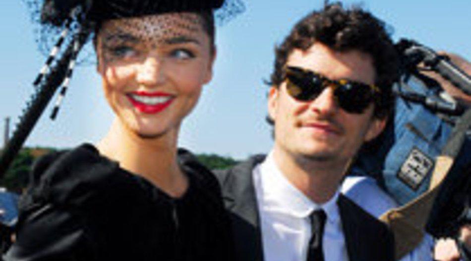 Orlando Bloom und Miranda Kerr werden Eltern